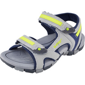 Hi-Tec GT Strap Sandals Kids Cool Grey/Majolica Blue/Limoncello